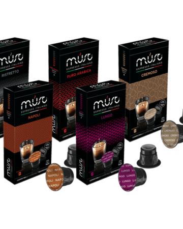 50 Nespresso Compatible Coffee Pods