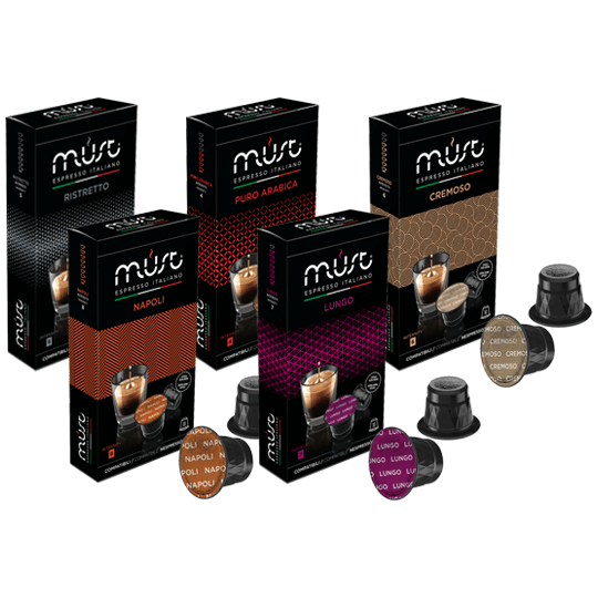 50 Nespresso Compatible Coffee Pods