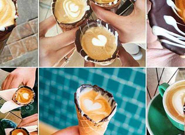 Introducing The Next Big Coffee Craze – Coffee In A Cone